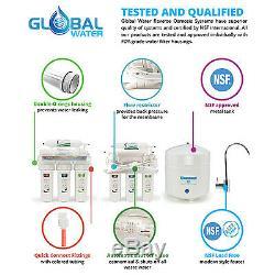 5 Etape Système Ro Consommation D'alcool Effacer + Ensemble Supplémentaire De 4 24hour Support Filtres-
