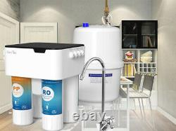 5 Étapes Sous Le Système D'osmose Inverse Filtre D'eau Filtre D'eau Alcaline Syst