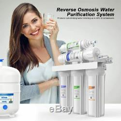 5 Étapes Undersink Système D'osmose Inverse De Filtration D'eau Filtre Ro & Softener100g