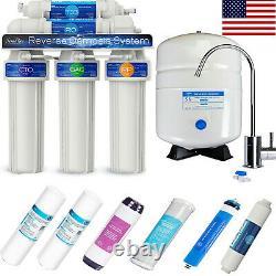 5 Stage Home Boire Système D'osmose Inverse Plus Extra 6 Filtres À Eau Express