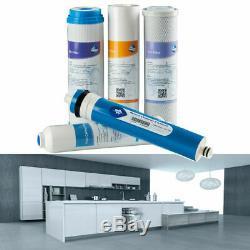 5stage Système D'osmose Inverse De Filtration D'eau 75gpd Adoucissant Pour La Cuisine
