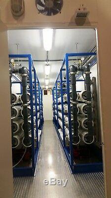 600 Gpm Osmose Inverse Traitement De L'eau Système De Traitement Conteneurisé Ro Unité