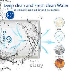 6 Etape 75gpd Osmose Inverse Filtre À Eau Alcaline Ro Système Avec Nsf Certifié