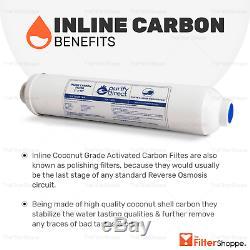 6 Etape Eau Potable Par Osmose Inverse Système De Filtration À Ph Alcalin 100 Gpd