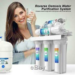 6 Etape Ro Osmose Inverse Eau Potable Filtre Purificateur Système Ph Alcalin Us