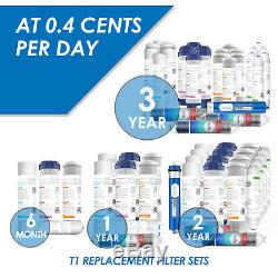 6 Etape Système D'osmose Inverse Avec L'eau Potable Alcaline Filtration Set 75gpd