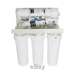 6 Etape Système D'osmose Inverse De Filtration D'eau Potable Ro Accueil Purificateur 75gpd