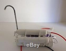 6 Etape Top Counter Osmose Inverse Alcaline / Redox Neg Eau Système 100 Gpd