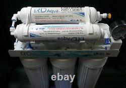 6 Étapes Ro Système De Filtre À Eau Avec 75 Gpd Membrane
