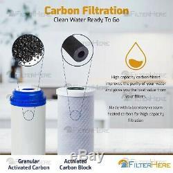 6 Ph Alcalin Étape D'osmose Inverse Accueil Eau Potable Système De Filtration