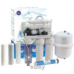 6 Unité De Ro D'eau Potable De Système D'osmose Inverse Pompée Par L'étape 75gpd