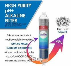 6stage Undersink Système D'osmose Inverse Ro Filtre À Eau Potable 75g Ph Alcalin