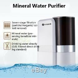 7 Etape Alcaline Minérale Osmose Inverse Eau Potable Système De Filtration Purificateur