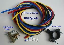 7 Étape! Filtre À Eau Pour Système D'osmose Inverse Ro + DI + Uv 75 Gpj Clear Nt H2o Splash