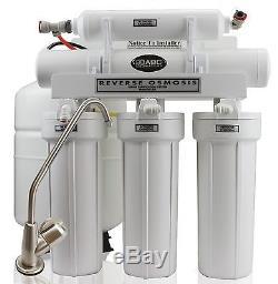 Abcwaters A Construit Le Système D'adoucisseur D'eau Fleck 5600sxt 48k + Osmose Inverse 75 Gpd