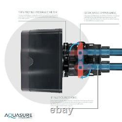 Adoucisseur D'eau Aquasure, Filtration De L'eau De La Maison Entière, Système Ro, 64 000 Grains
