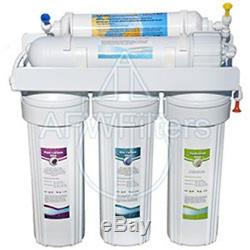Afw Filtres À 5 Étages Zoi Alpha Pur Osmose Inverse Eau Potable Système De Filtration