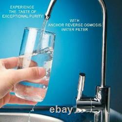 Anchor Af-5002 Osmose Inverse Système De Traitement De L'eau À 5 Étages 50gpd