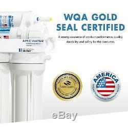 Apec 90 Gpd Haut Niveau Suprême Certifié High Output Système D'osmose Inverse D'eau