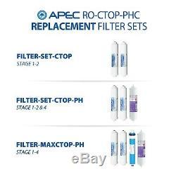 Apec Alcaline 90gpd Countertop Système D'osmose Inverse Avec Le Cas Ro-ctop-ssp