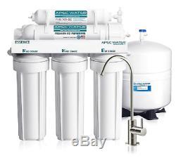 Apec Eau Essence 5 Étapes 50 Gpd Système D'osmose Inverse De Filtration D'eau