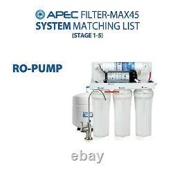 Apec États-unis Made 50 Gpd Remplacement Complet Filtre À Eau Pour Le Système Ro Filtre Max45