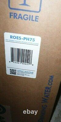 Apec Roes-ph75 Ph+ 75 Gpd 6-stage Alkaline Reverse Osmosis Water Filter System