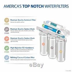 Apec Top Tier 5 Étapes Ultra Safe Osmose Inverse Filtre D'eau Potable Système E
