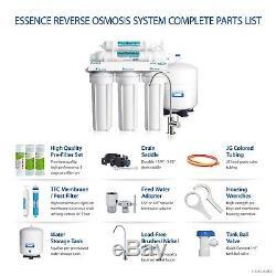 Apec Water Systems Système De Filtration D'eau À Osmose Inverse Roes-50 5 Étapes 50 Gpd