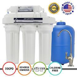 Apex Mr-5050 5 Etape 50 Gpd Ro Filtration Eau Par Osmose Inverse Système De Filtration