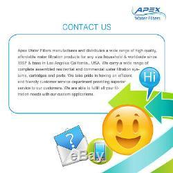 Apex Mr-6051 6 50 Gpd Étape Uv Ultra Violet Eau Par Osmose Inverse Système De Filtre