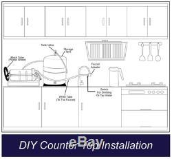Appartement / Rv Portable Ro Système D'osmose Inverse D'eau + Basse Pression À Membrane