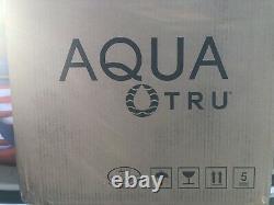 Aqua Tru Countertop Water Filtration Purification System, 90at02at01 Flambant Neuf