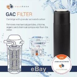 Aquaboon 50 Gallons Par Jour, Système De Filtration Par Osmose Inverse À La Maison Pour Boire