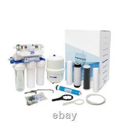 Aquafilter 7 Stage Reverse Osmosis System 75gpd Pour L'eau Potable