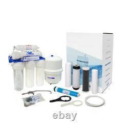 Aquafilter Domestique Undersink 6 Étape Reverse Osmosis System Fluorure Removal