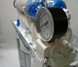 Aquarium 6 Étape Ro 2 DI Système De Filtre À Eau Rechargeable Avec Membrane Gpd 150