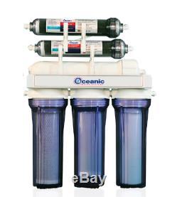 Aquarium Océanique Reef Eau Par Osmose Inverse Système De Filtration 7 Etape Uv Ro DI Pompe