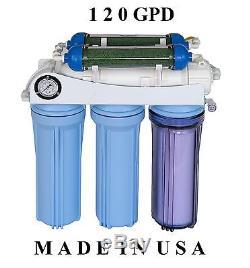 Aquarium Reef Koolermax Osmose Inverse Système De Filtrage De L'eau Ro DI Établi Ar122
