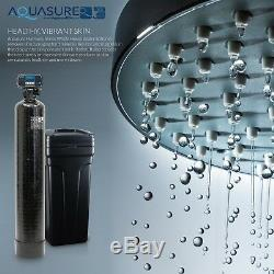 Aquasure Adoucisseur D'eau 48 000 Grains / Système D'osmose Inverse 75 Gpd Bundle