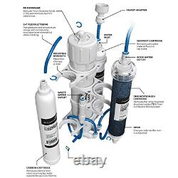 Aquaticlife Aquatic Life Ro Buddie Four Stage Reverse Osmosis System With Color