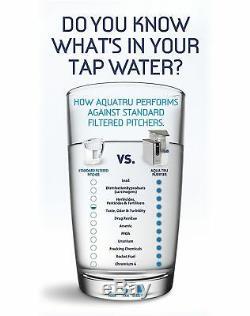 Aquatru Filtre À Eau Système Countertop D'épuration Avec 4 Exclusif Étape