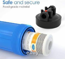 Big Blue 10 Système De Filtration D'eau Maison Entière Mise À Jour Du Filtre De Préfiltre D'eau Spin Down