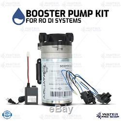 Booster Kit Pompe Pour Osmose Inverse Ro DI Systems, 50-150 Gpd, 1/4 Ports Qc