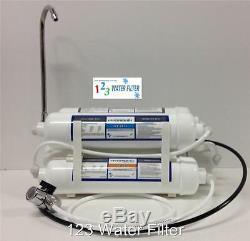 Countertop Ro Par Osmose Inverse Alcaline / Ioniseur Orp De L'eau Système De Filtration 150 Gpd