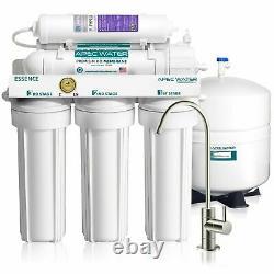 Eau De L'apec 6 Étape 75 Gpd Système De Filtration D'eau À Osmose Inverse Alcaline Roes-ph75