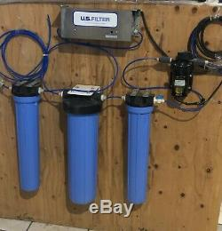 Eau Par Osmose Inverse Système De Filtration 800 Gpd Avec Surpresseur Et Lampe Uv