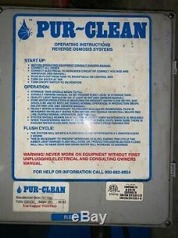 Eau Par Osmose Inverse Système De Filtration (pur Clean)