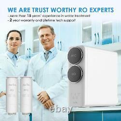 Eau Sans Réservoir Filtration Eau Ro Système D'osmose Inverse 400 Gpd Débit Rapide Fcc