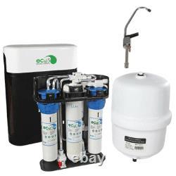 Eco3 Système Complet D'osmose Inverse Avec Réservoir, Robinet, Couvercles Installer Des Pièces